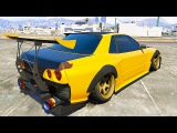 GTA 5 Racing with Elegy Retro Custom Import Export DLC (GTA 5 FAST AND FURIOUS SKYLINE Gameplay)