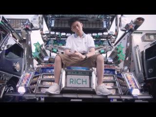 Rich Chigga - Dat $tick Remix feat Ghostface Killah and Pouya (Official Video)