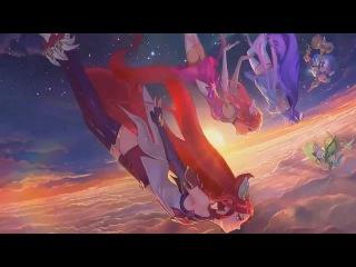 Звёздные Защитницы | Экран входа в League of Legends (Login Screen)