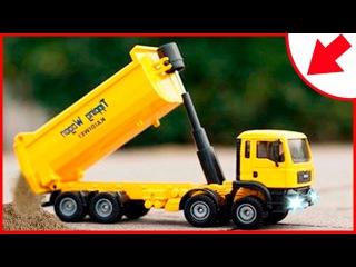 Araba ve Kamyon inşaat çizgi filmi türkçe (çocuklar için) | Kazma makinesi ve Çekici Tom