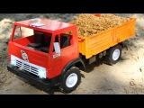 Construction Squad the Truck, the Crane and the Excavator in Car City  Cartoons for kids