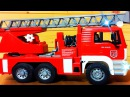 Devriye Aracı itfaiye kamyonu ve polis arabası Kamyonlar çocuklar için çizgi film