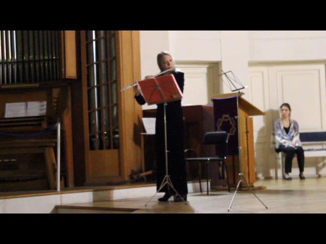 Г.Ф.Телеман Фантазия для флейты соло N 2