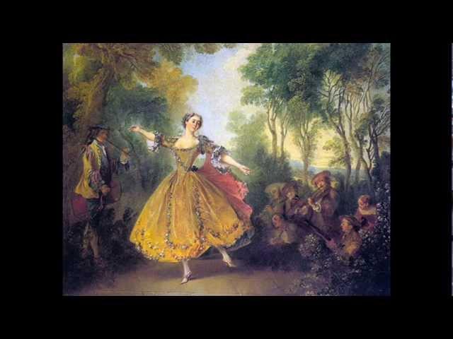 Bourrée DAvignonez - Recueil de plusieurs vieux Airs par Philidor lAîné en 1690