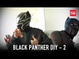 #116.2: Black Panther Helmet Part 2 - Details (free download) Costume How To   Dali DIY