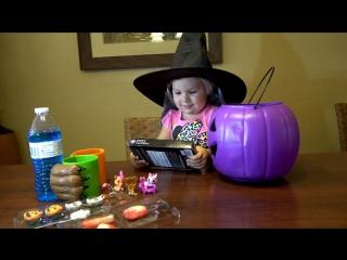✿ Необычные Конфеты на Хэллоуин найти Конфеты или Сюрпризы в Тыкве Halloween candy  DIY Halloween
