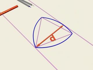 Замечательные кривые. 1. Круглый треугольник Рело // Математические этюды