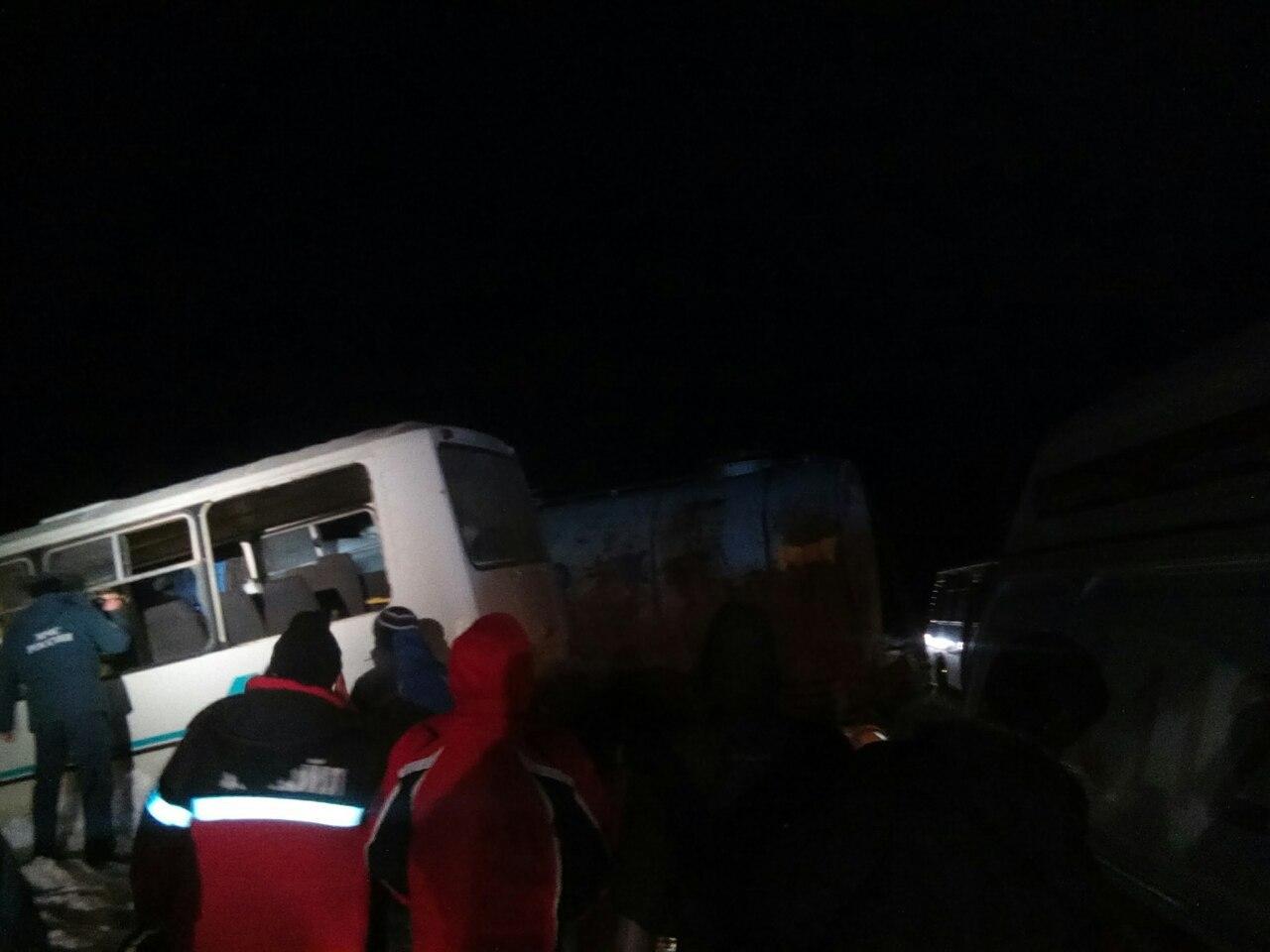 ВПрикамье вДТП сослужебным автобусом погибли три сотрудника ЛУКОЙЛа