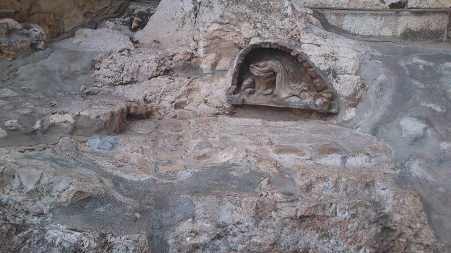 Камень где Иисус Христос молился до кровавого пота