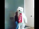 Мишка из Coca Cola?