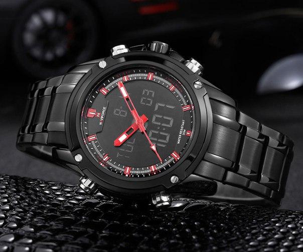 ⚠ Стальные часы с мужским характером!! ⚠