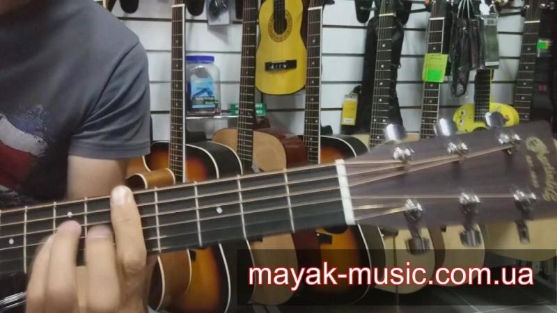 MARTIN DX1AE Электро-акустическая гитара демо mayak-music