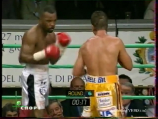 1998-05-29 Reggie Johnson vs Ole Klemetsen (IBF Light Heavyweight Title)