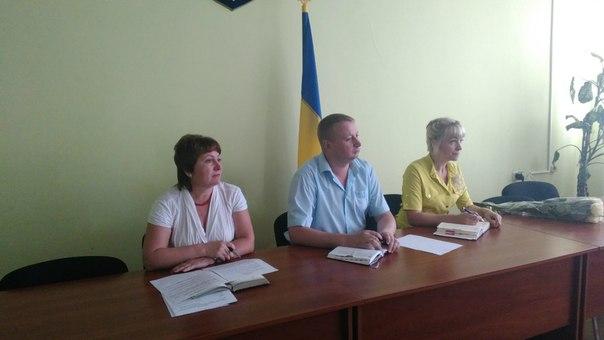 Перший заступник голови райдержадміністрації Никитченко М.А. провів апаратну нараду