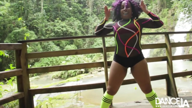 DANCEJA QUEENS - LOCK DI CITY - AUTHENTIC DANCEHALL (Versatility Style Fabulousness) YS FALLS