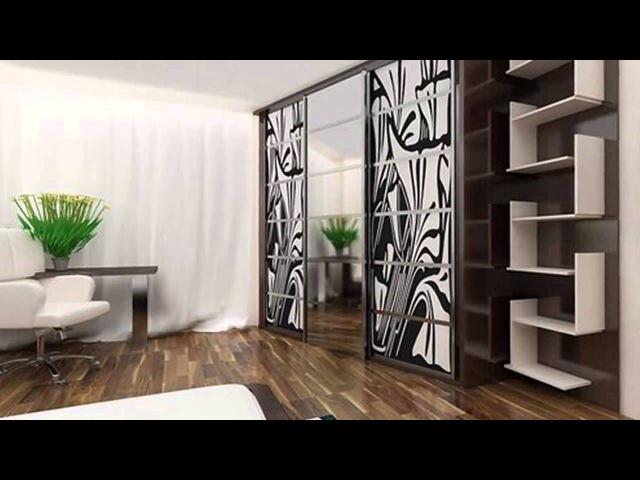 Какие бывают шкафы-купе - дизайн фасадов для спальни и гостиной