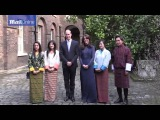 Kate stuns as she and William meet people from India and Bhutan