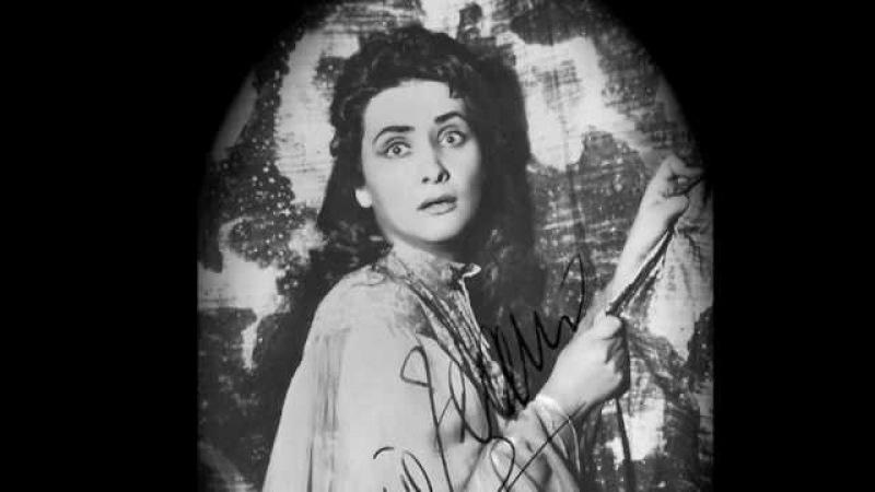 Virginia Zeani's Dramatic Lucia J Mad Scene 2 London 1957