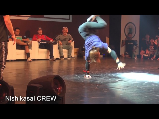 B.I.S B-Girl 2on2 Final AYANE NOA vs Haruka Nao
