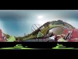Rollercoaster Goliath (Walibi) VR  360 Video Experience
