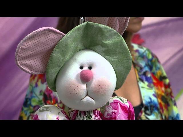 Mulher.com - 29/01/2016 - Bicho de pano, coelho puxa saco - Vivi Prado PT2