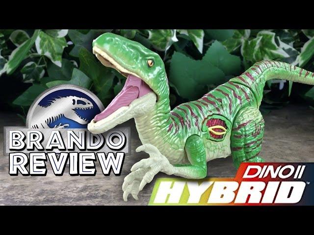 Jurassic World™ Hybrid Velociraptor Growler Figure Review
