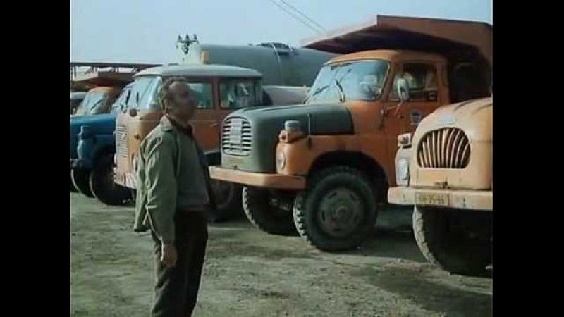 První den v práci řidič Tatry 148