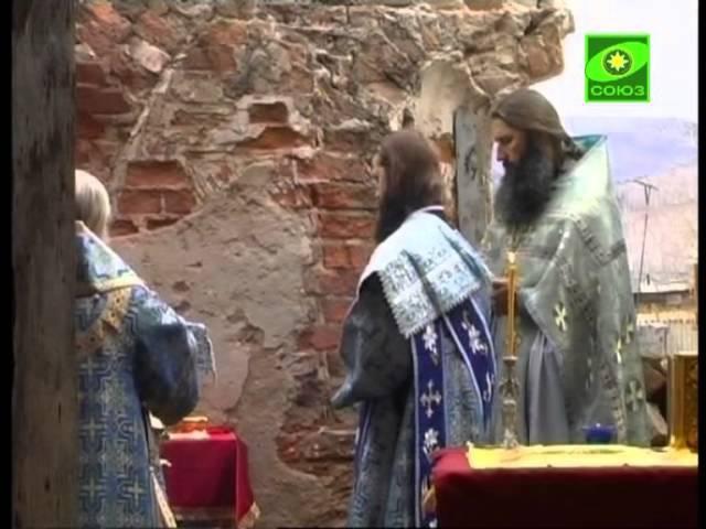 Службы в Успенской церкви в забайкальском с. Калинино