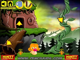 Обезьянка и Лепреконы прохождение Monkey GO Happy Leprechauns walkthrough