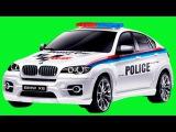 Eğlenceli Çocuk Filmi - Akıllı Arabalar - Polis Arabası, Ambulans, Yarış Arabası ve Kamyon