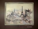 Видео мастер класс Декор двери Мечты о Париже меловой краской DailyArt Часть2