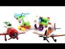 Развивающий мультфильм Самолёты Аэротачки и набор Строй и Играй (Build and Play)