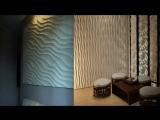 Рельефные 3D панели для стен в интерьере