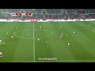 Польша 1:1 Словения | Товарищеские матчи 2016 | Обзор матча