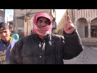 Аль-Растан. Пятничная демонстрация солидарности с народом осаждённого Алеппо