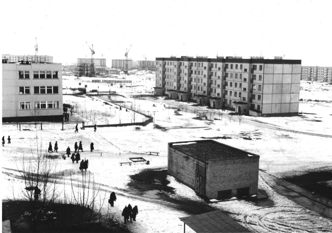 8 микрорайон. 1986 год.