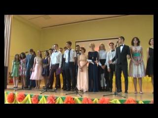 В минувшие выходные отгремели выпускные балы для учащихся 11 классов.Наша съемочная группа побывала на одном из них в лицее №2.