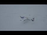 Простой самолет (биплан) из потолочки ЛМ-2 (посадки