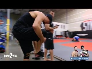 Road 2 War || Episode 9 || Nate Diaz: UFC 202 || Las Vegas