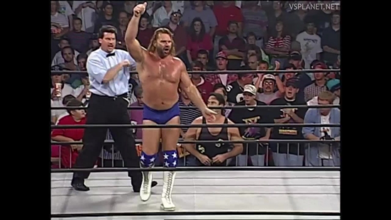 Jim Duggan vs VK Wallstreet, WCW Monday Nitro 19.08.1996