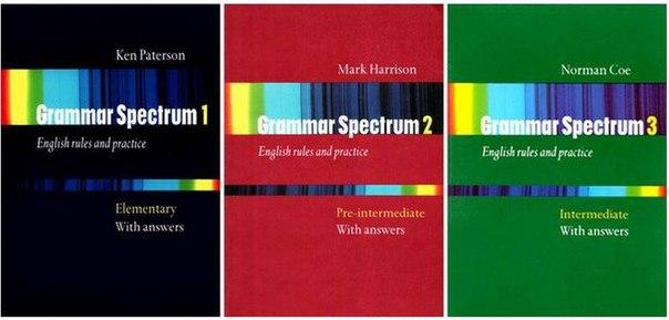 Grammar Spectrum 1, 2, 3 With Key