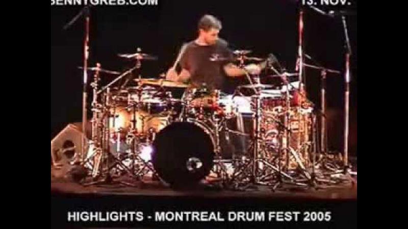Benny Greb Drum Solo - Montreal Drum Fest 2005