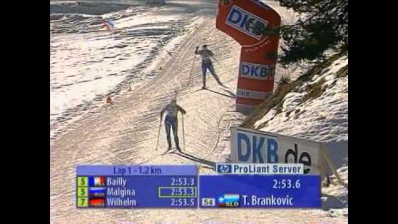 Биатлон. Кубок мира 2006-2007. 3 этап. Хохфильцен. Женский спринт