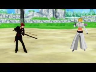 【MMD】Duel|60 fps