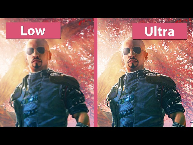 Shadow Warrior 2 – PC Low vs. Ultra detailed Graphics Comparison Analysis