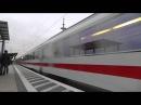 2 BR 120 mit 14 IC Wagen fuhr mit 200 KM/h durch Gütersloh HBF nach Berlin