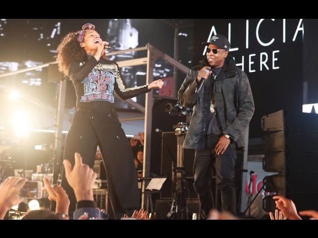 Alicia Keys Jay Z - Empire State of Mind LIVE (HERE in Times Square) 2016