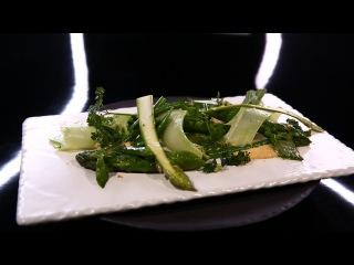 Printanière de légumes verts, maïs crémeux, par Olivier Bellin (#DPDC)