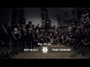 Twin Tension vs Boy Gully | RSK Try Out 1st Round | HYPE OUT 2013
