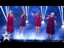 The Garnett Family perform Natural Woman | Semi-Final 2 | Britain's Got Talent 2016